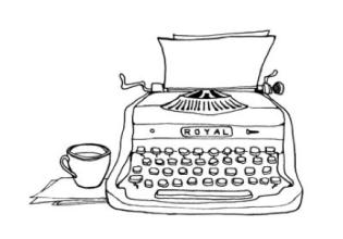 Royal-Typewriter-drawing